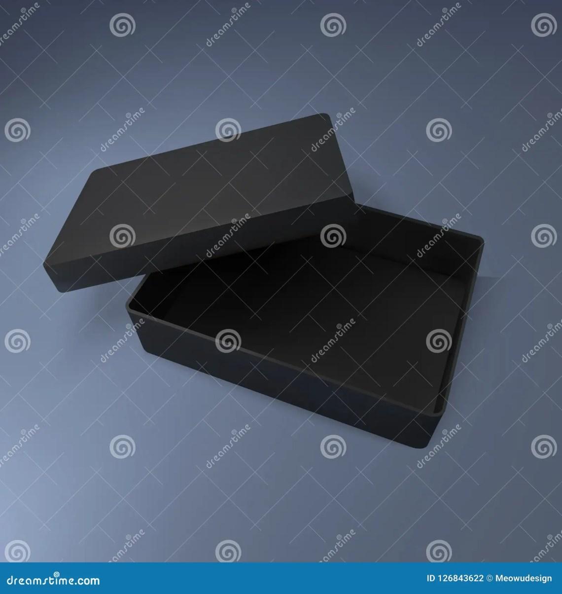 Download Black Box Mockup, Vector Illustration Stock Vector ...