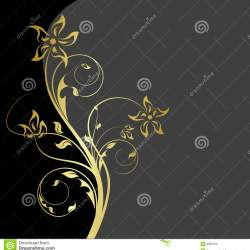 Blue Frame Floral Patterns Stock Illustration Illustration Of 259be8b59009