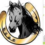 Horse Head Horseshoe Stock Illustrations 686 Horse Head Horseshoe Stock Illustrations Vectors Clipart Dreamstime