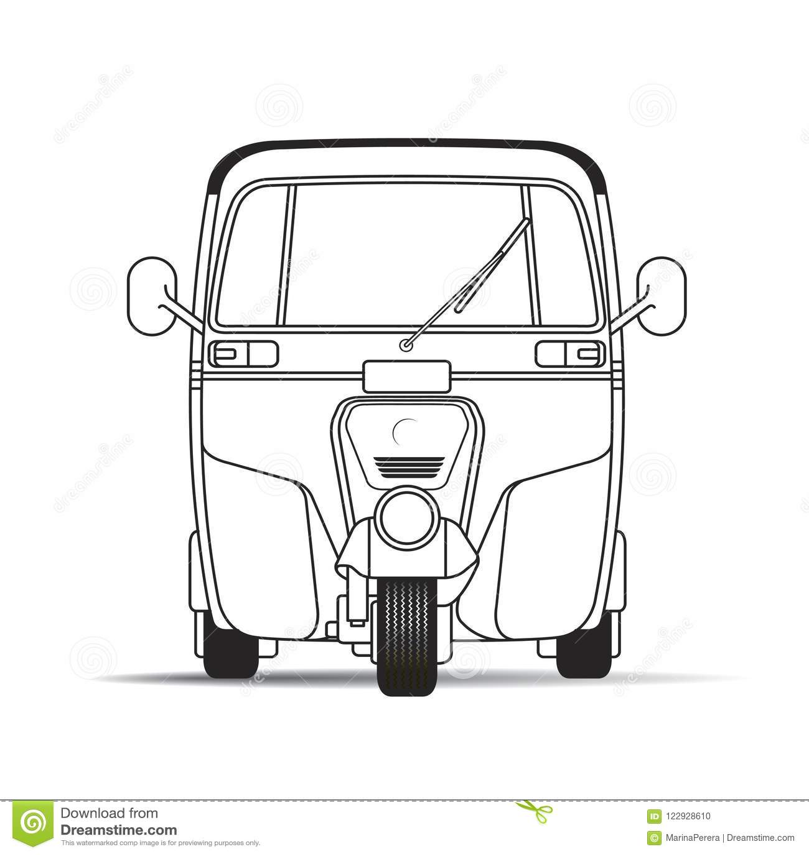 Taxi Service Cartoon Vector Illustration Cartoon Vector