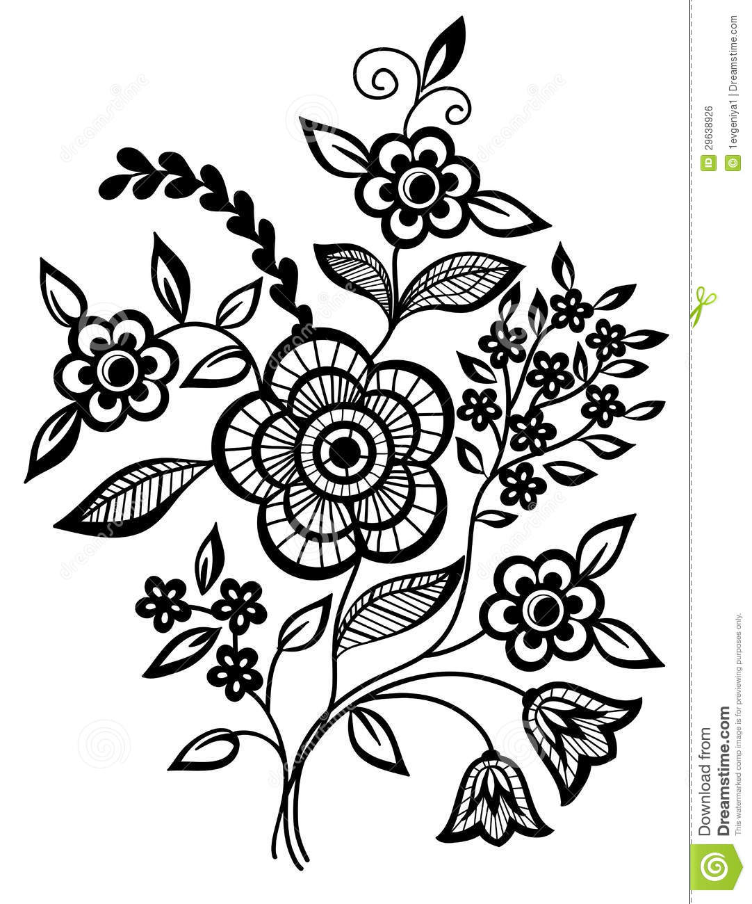 black and white floral design patterns black and white flowers and