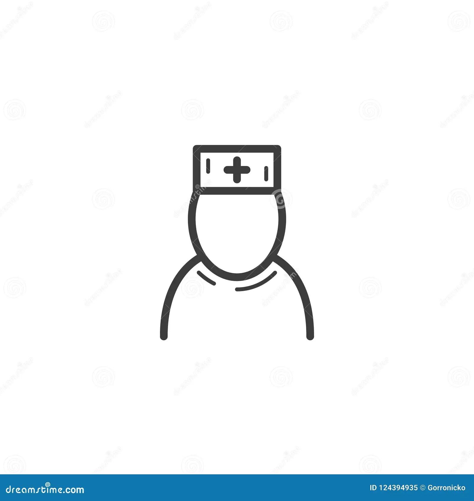 Nursing Profession Advertising Layout Cartoon Vector