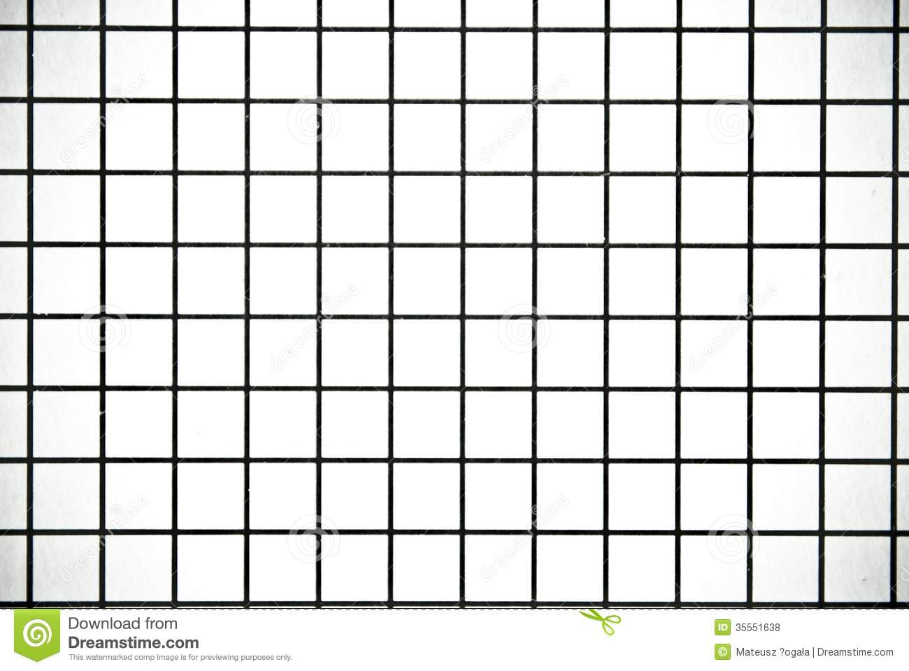 Black And White Square Checked Paper Background Or Texture