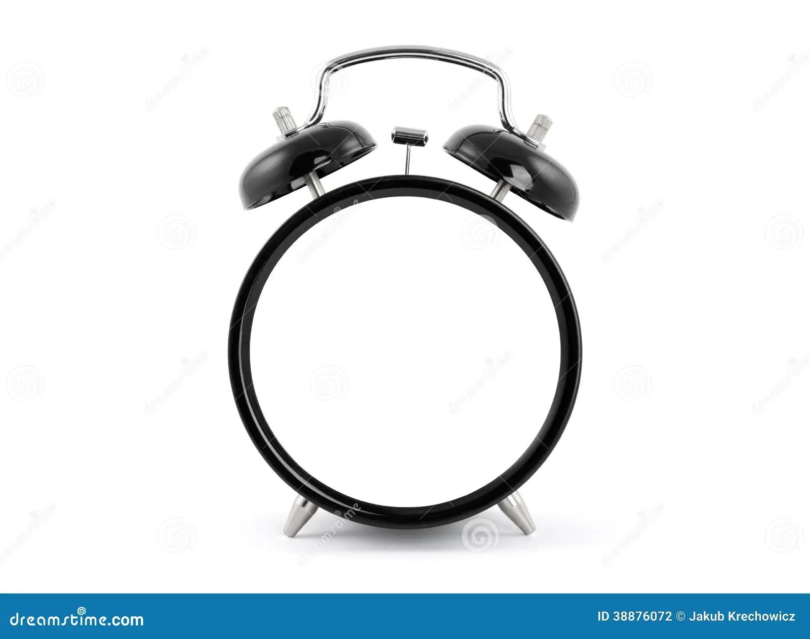 Blank Alarm Clock Stock Photo Image Of Object Empty