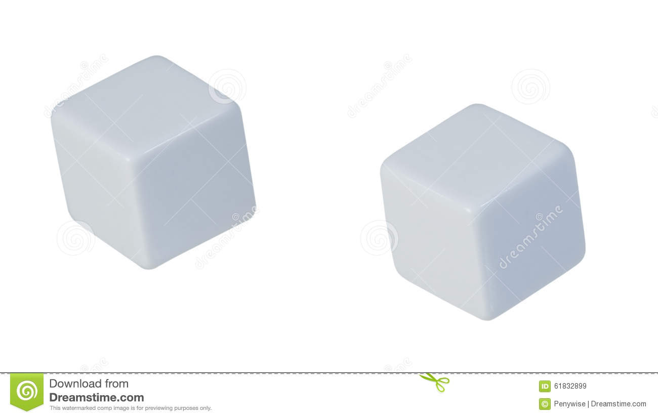 Blank Dice Stock Image Image Of Chance Roll Text Dice