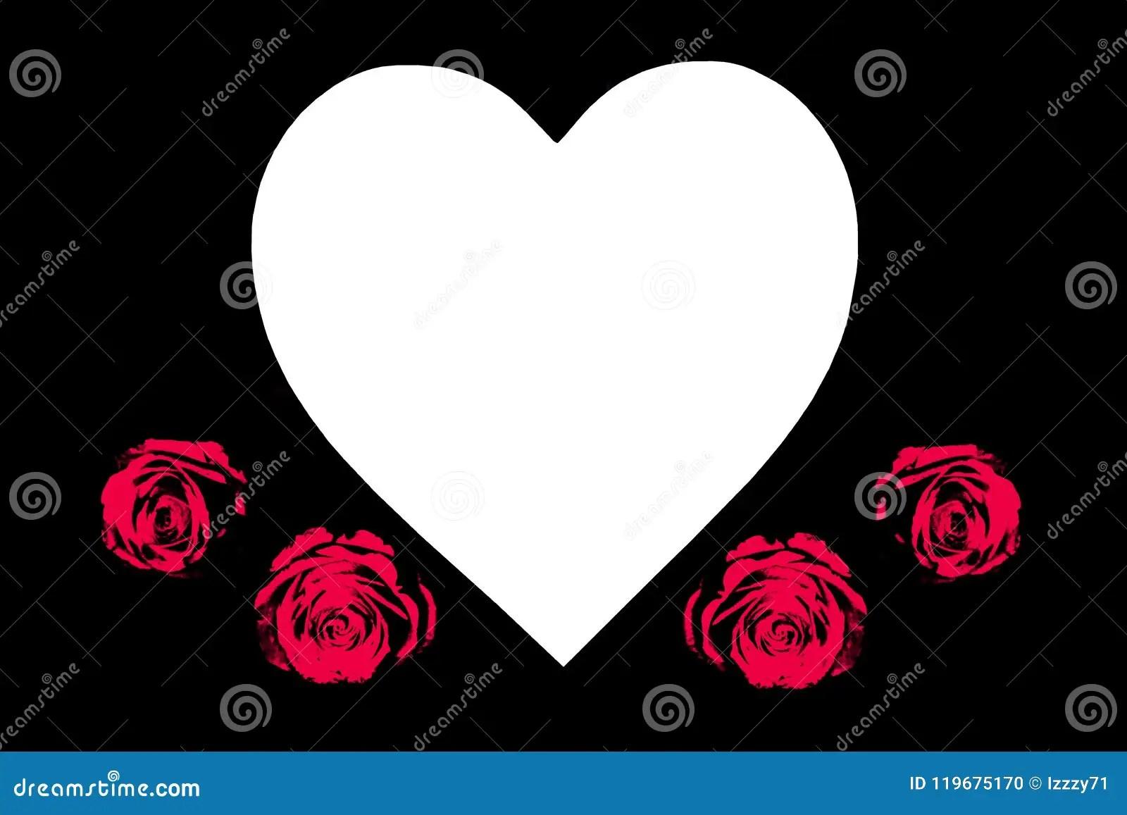 Blank Heart Shape Stock Photos