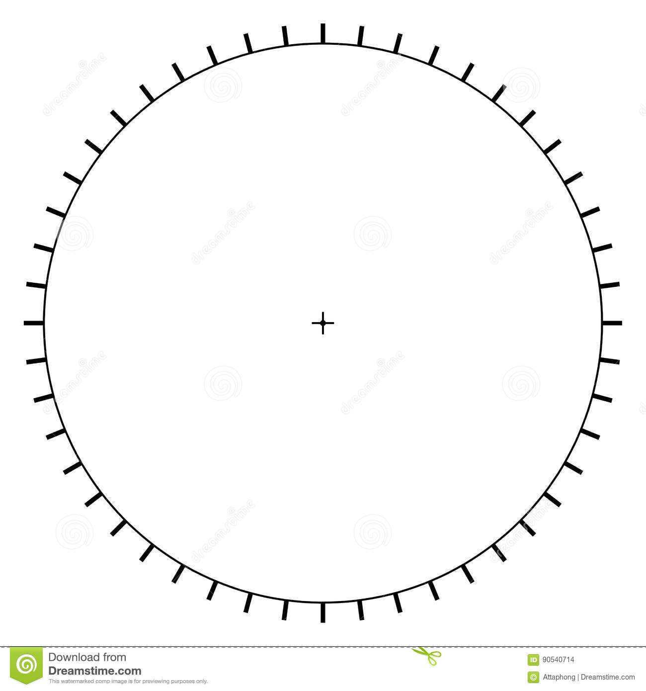 Diagram Of Protractor