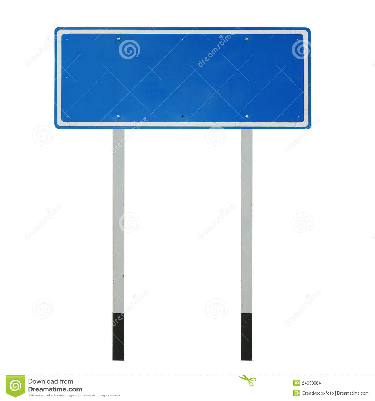 Blank Traffic Sign Stock Photo Image Of Texture Urban