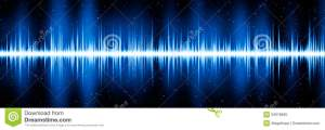 Blue Frequency Diagram Stock Illustration  Image: 53918835