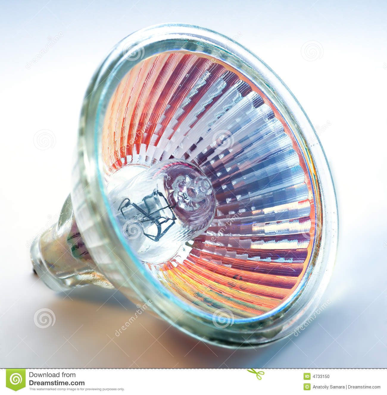 Blue Halogen Light Bulbs