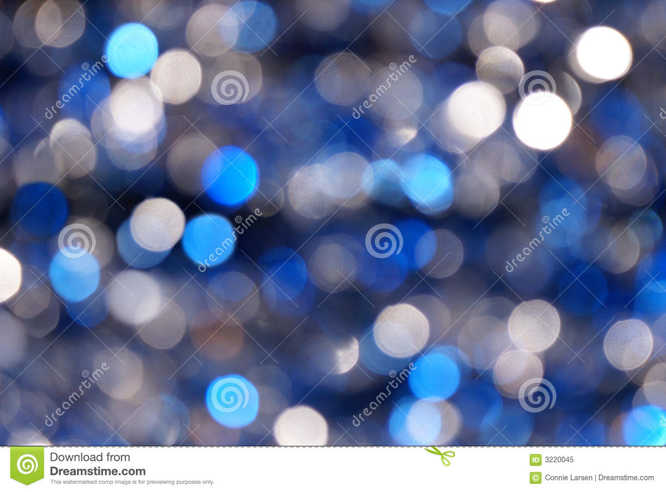 Blue Amp Silver Blur Background Royalty Free Stock Photo