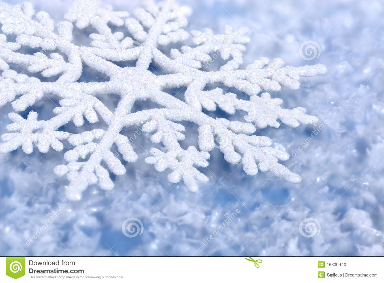 Blue Winter Background Stock Photo Image Of Crystal