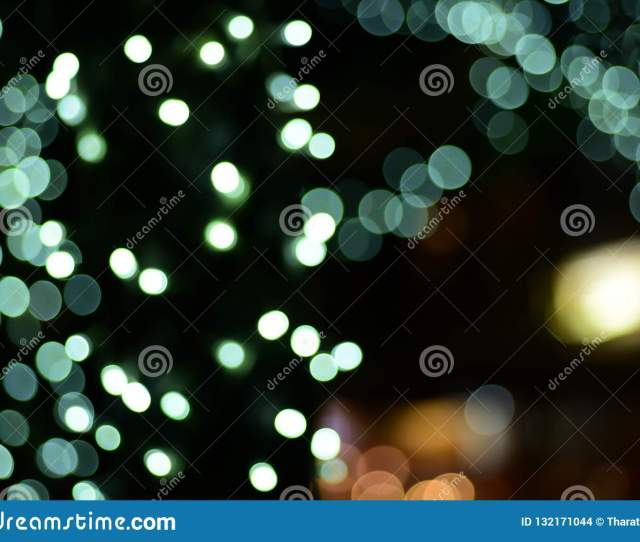 Abstract Blurred Of Blue And Silver Glittering Shine Bulbs Lights Backgroundblur Of Christmas Wallpaper Decorations Concept Christmas Light Night
