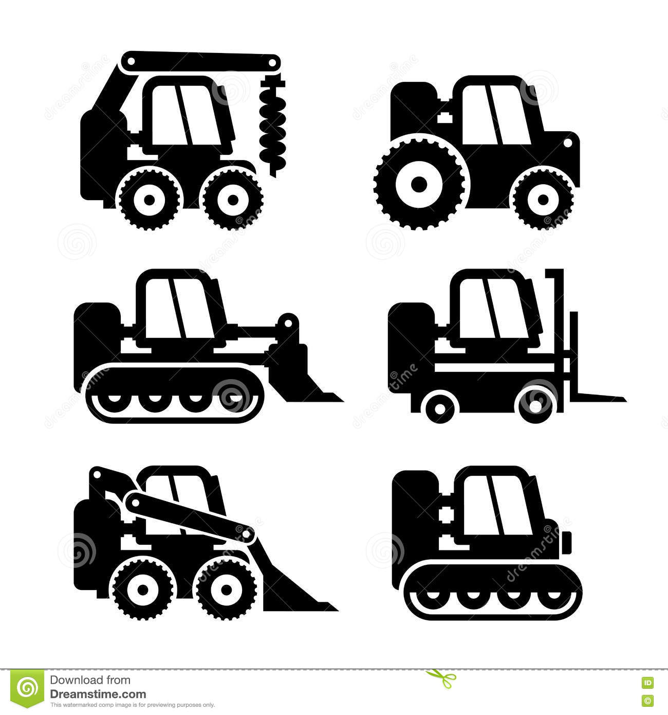 Bobcat Machine Stock Illustrations 181 Bobcat Machine