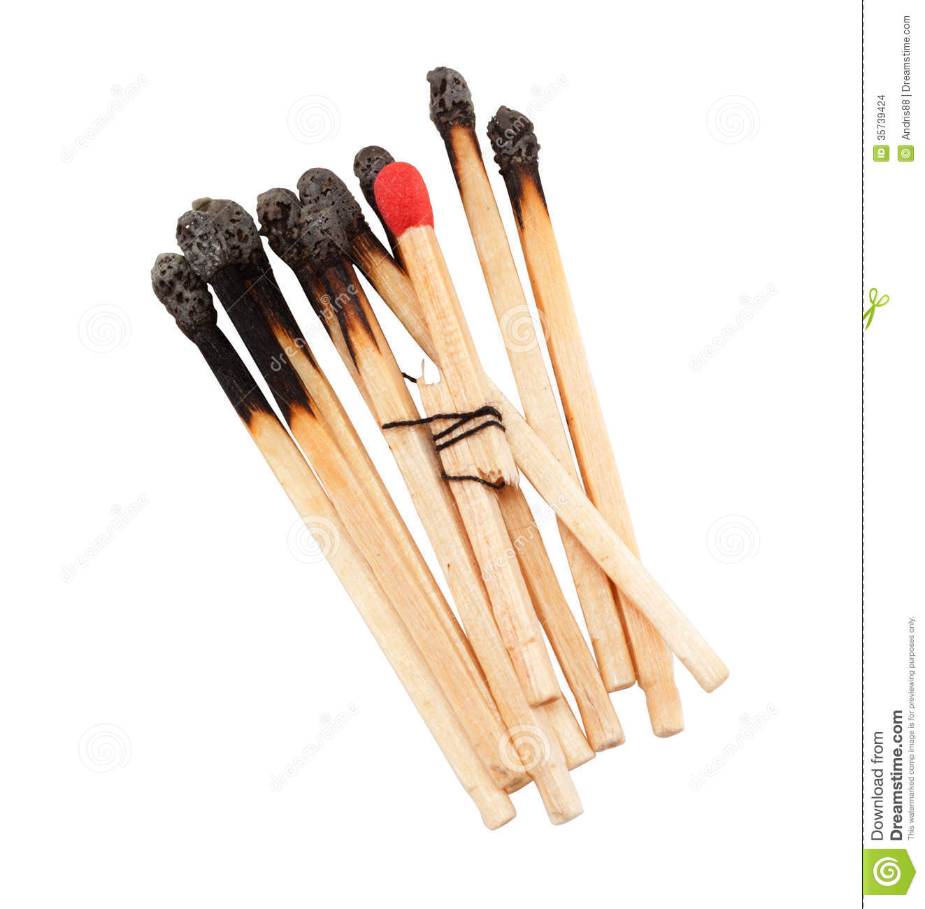 Bonded Match Stock Images Image 35739424