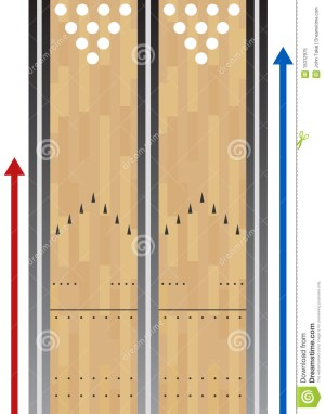 Bowling Lane Chart Royalty Free Stock Photo  Image: 15312975