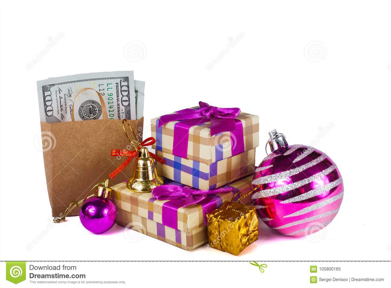 Christmas Discounts And Money Saving When Shopping Stock