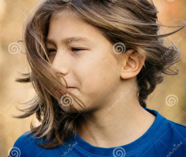 Boy With Long Hair