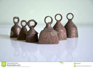 Brass Bells From India Stock Image Image Of Design Brass 69489627