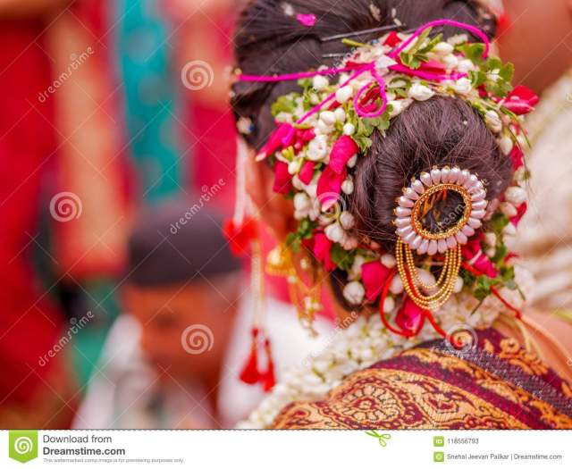bridal hair style editorial stock photo. image of henna