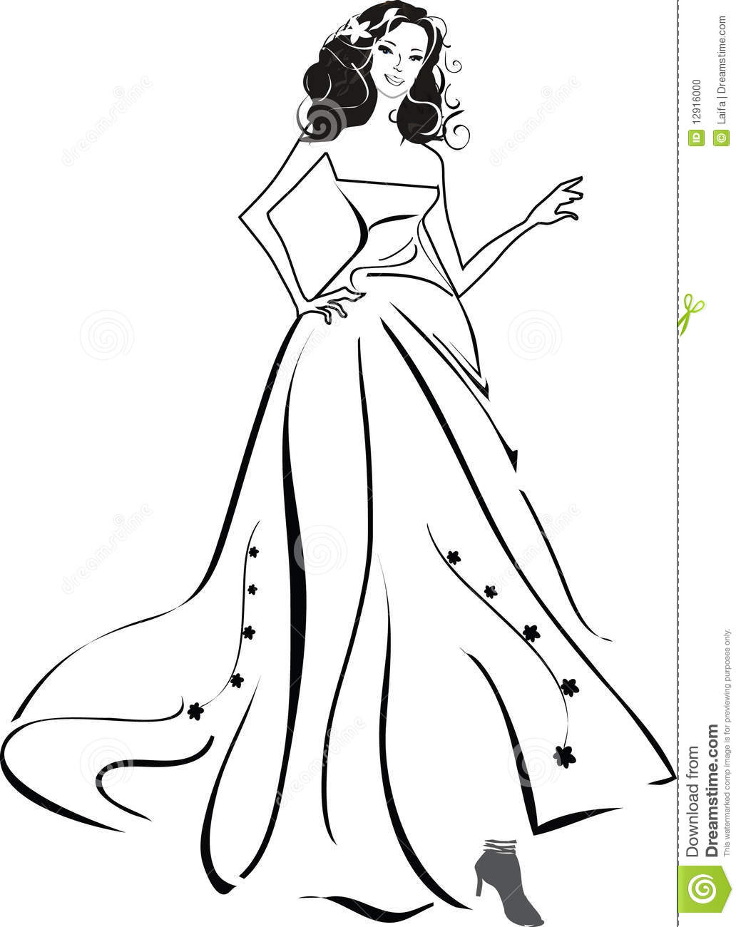 A Bride Stock Illustration Image Of Mannequin Dress
