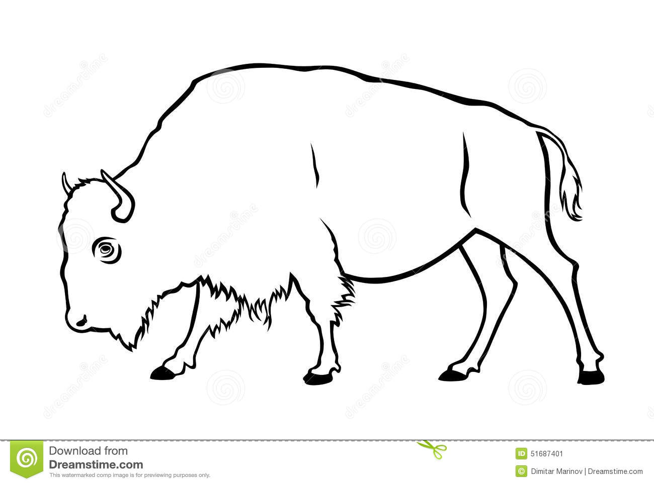 Buffalo Stock Vector