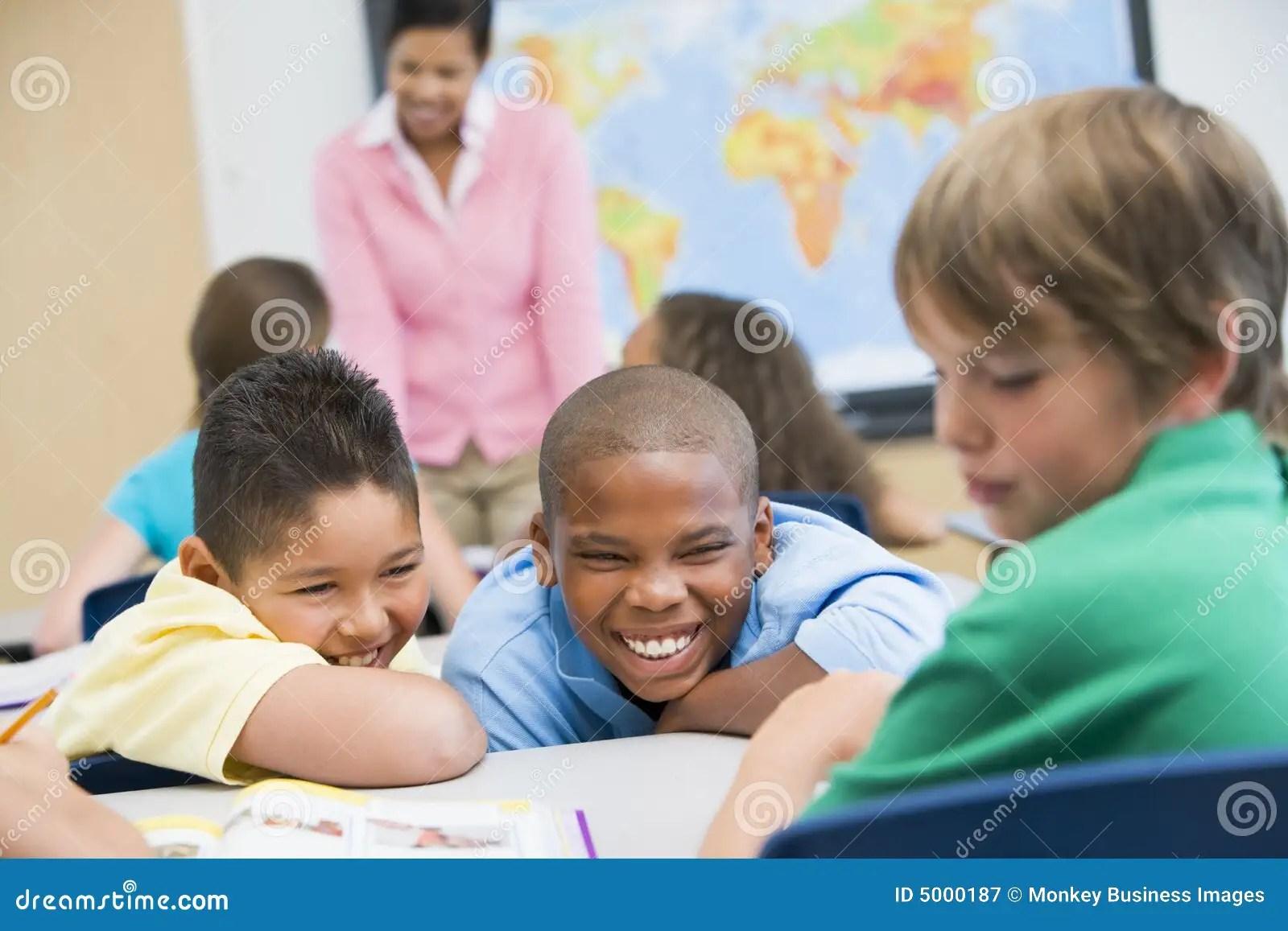 Bullying In Elementary School Royalty Free Stock