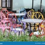 Bunte Stuhle Stockbild Bild Von Stuhle Bunte 41535627
