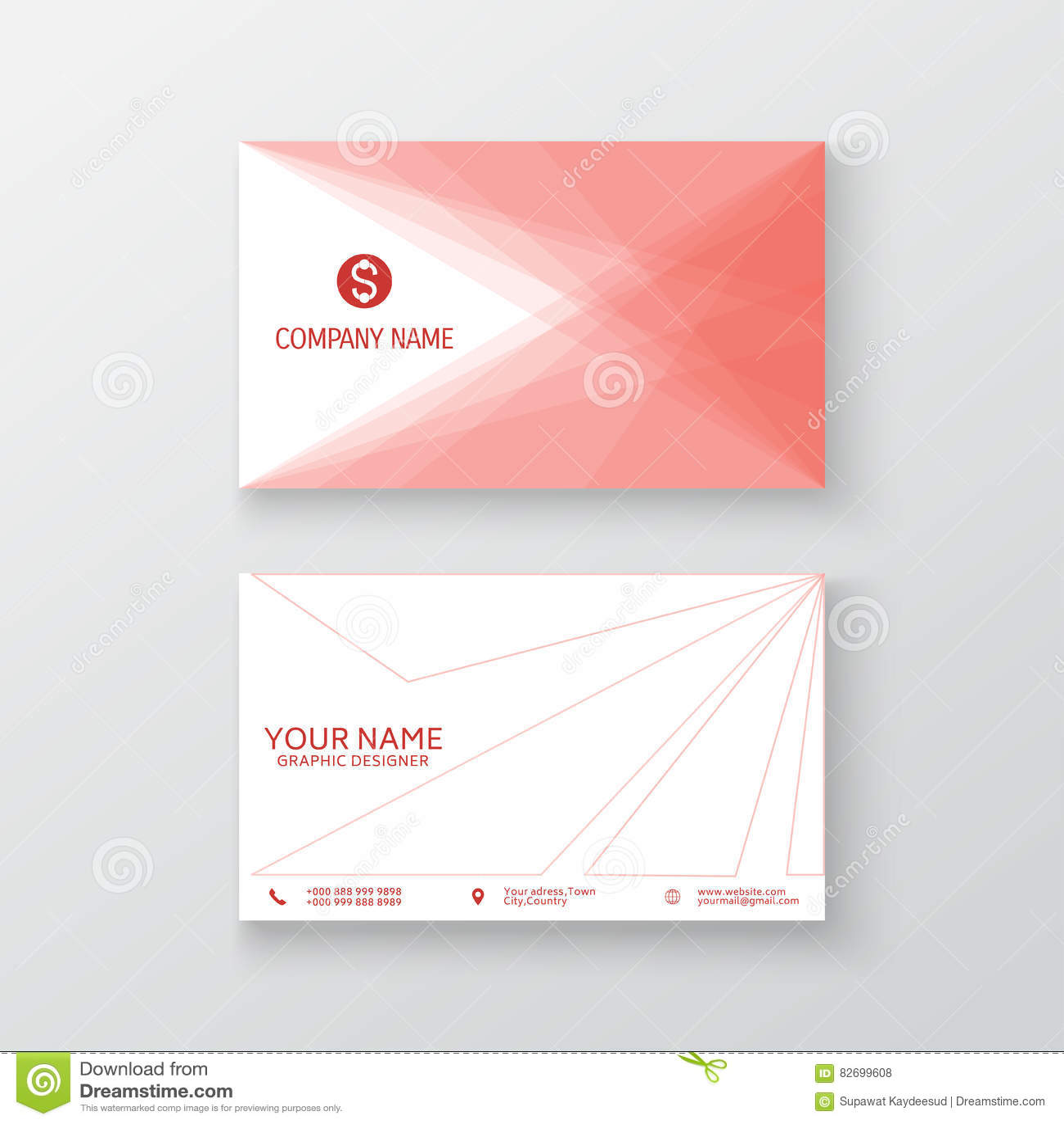 vector modern creative and clean card
