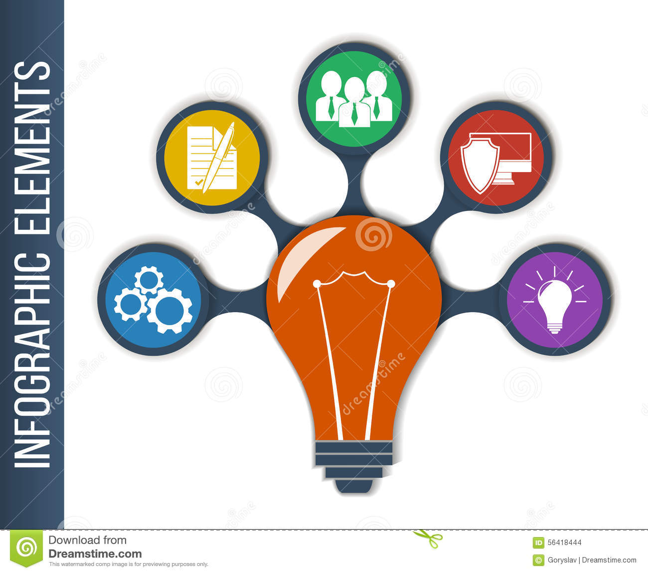 Business Finance Idea Concept Layout For Teamwork And