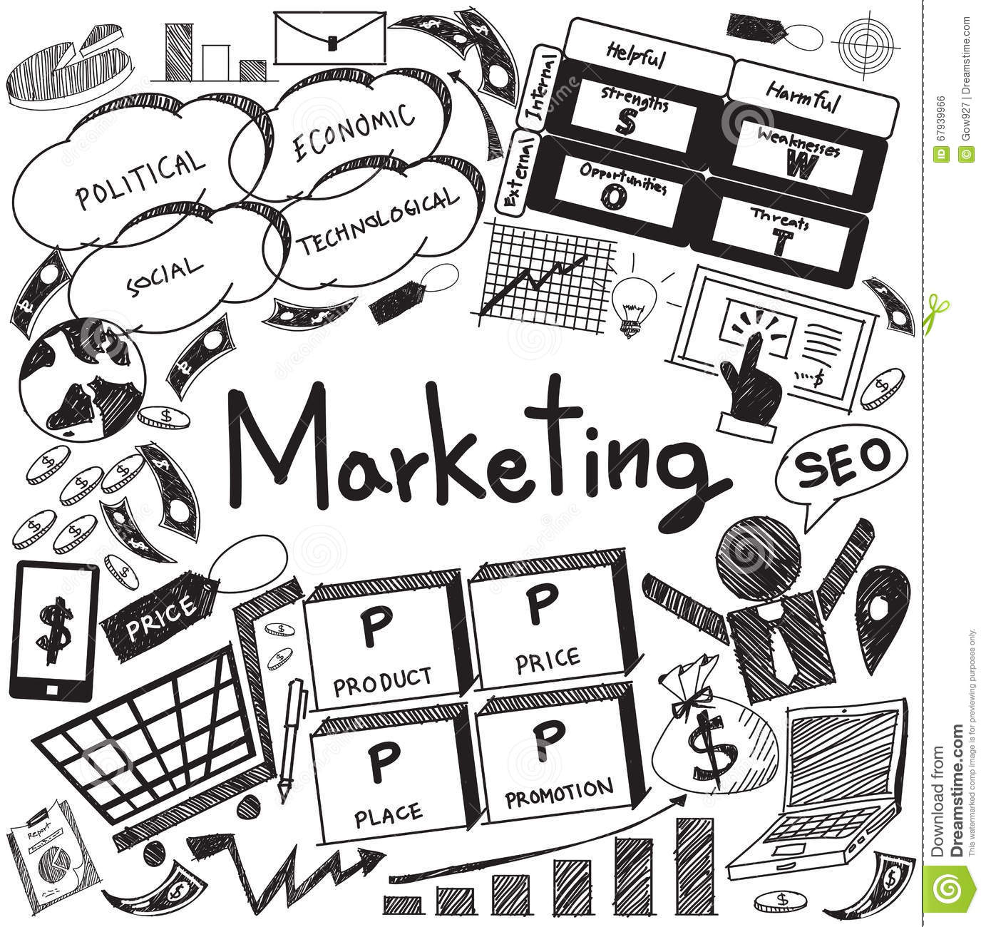 Business Management And Marketing Advertisement Icon