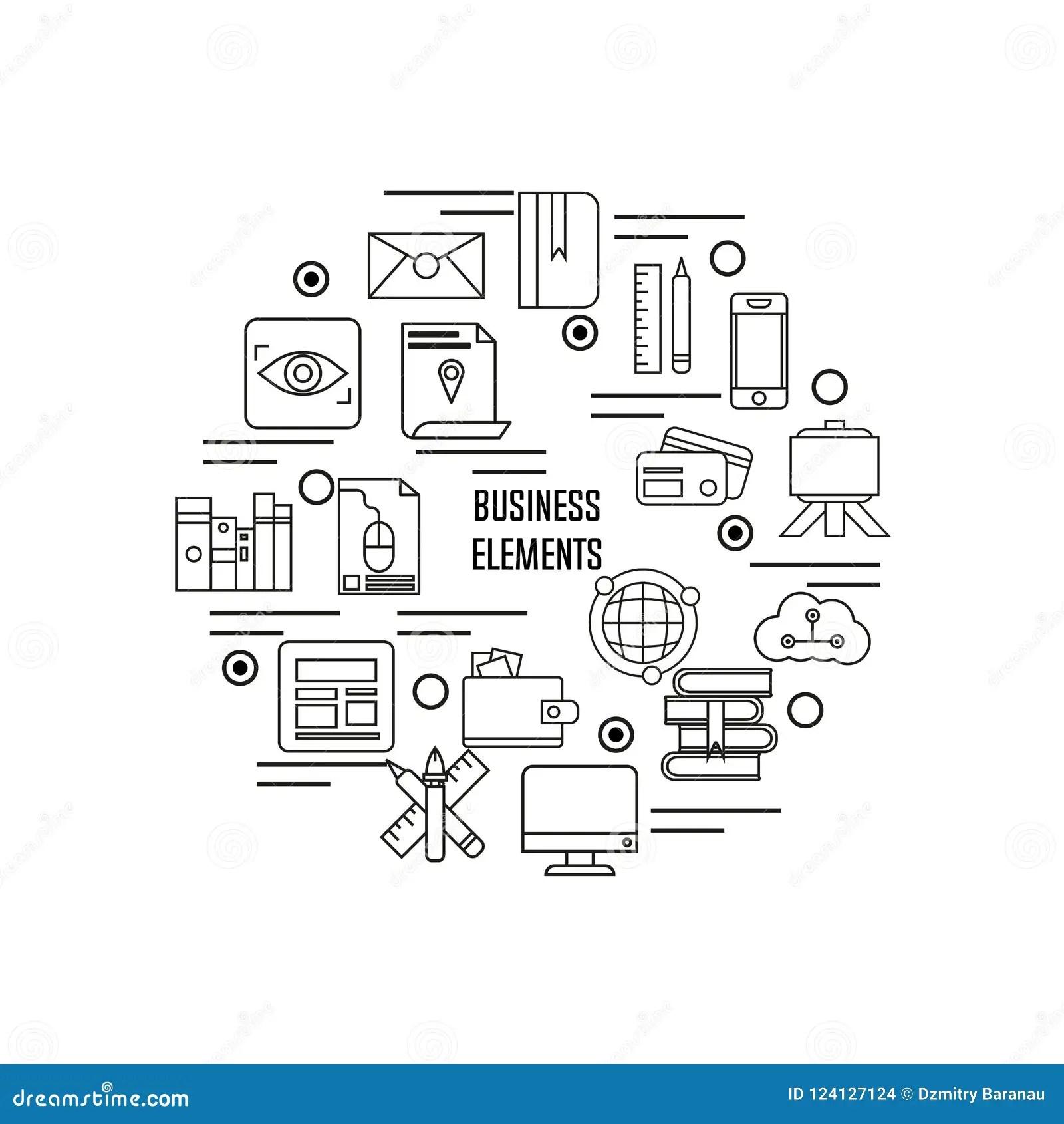 Business Symbol Illustration Design Vector Element