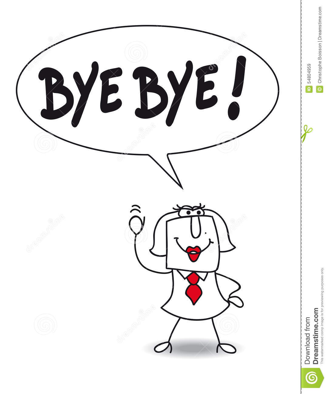 Bye Cartoons Illustrations Amp Vector Stock Images