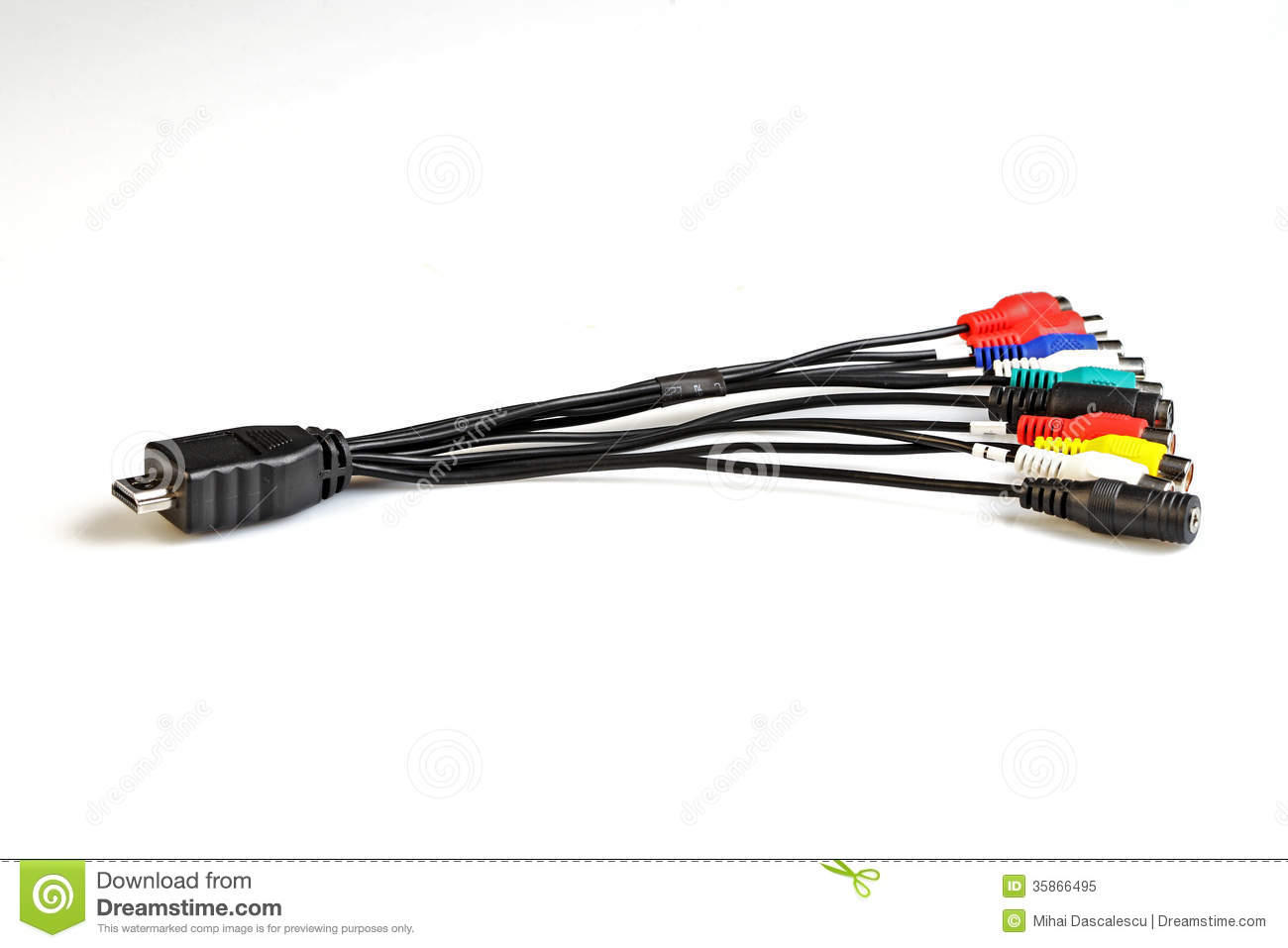 Cables Royalty Free Stock Photo