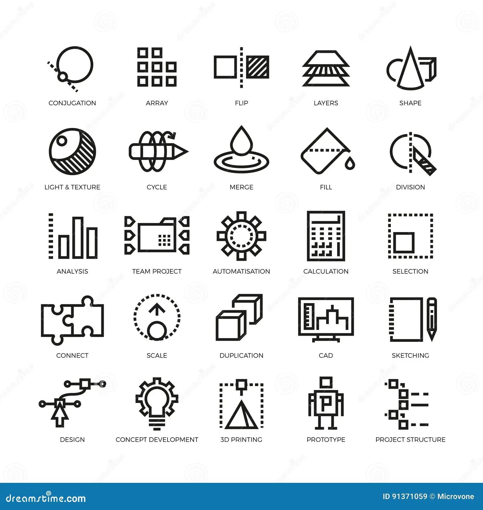 Cad Formgivare Framtida Innovation Databas Arkitektur For Printingvektor For Modell 3d Linje