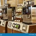 Cafe Cafeteria Service Coffee Machine Restaurant Shop Bar Business Drink Espresso Maker Prepare Service Concept Editorial Stock Photo Image Of Machine People 120120688
