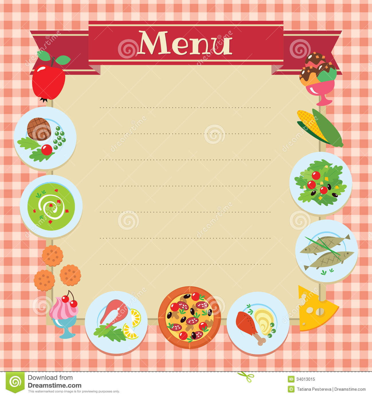 Lunch Menu Templates sample lunch menu template 14 download – Lunch Menu Template