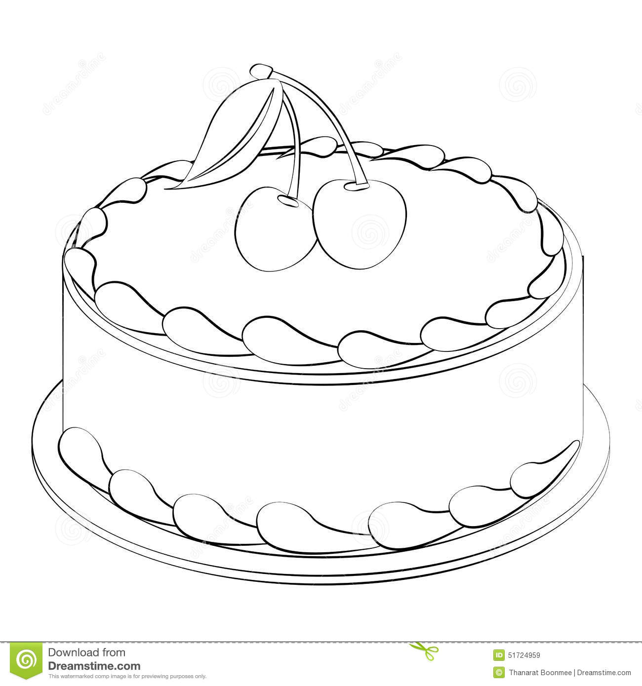 Cake Stock Vector Illustration Of Cupcake Cakes
