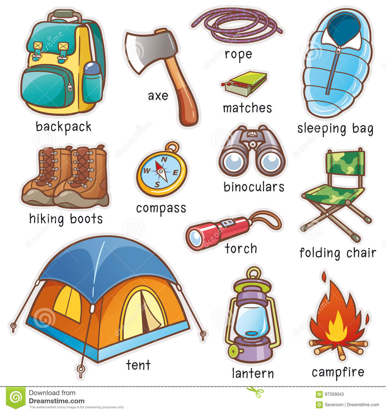 Camping Cartoons Illustrations Amp Vector Stock Images