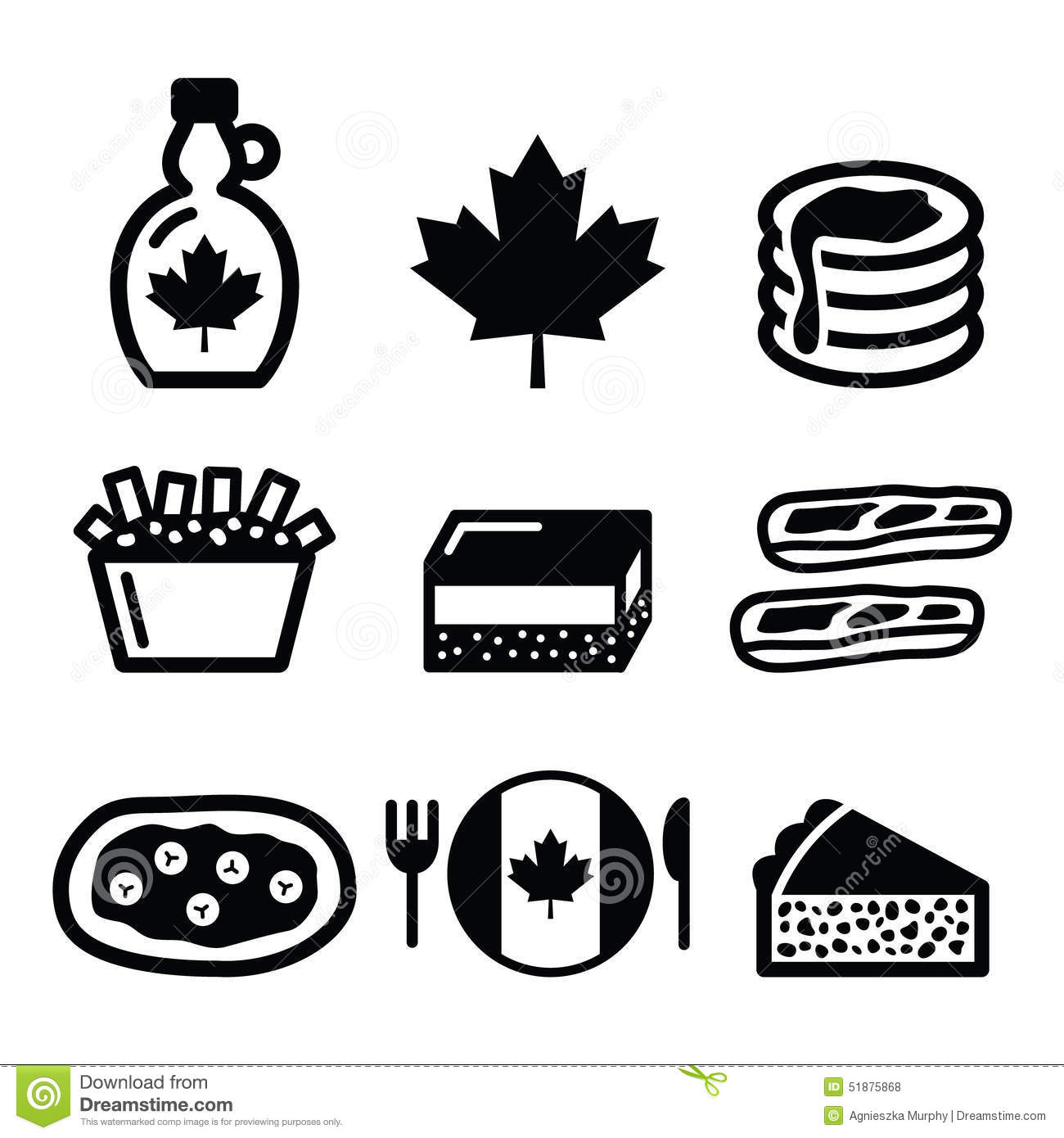 Canadian Food Icons