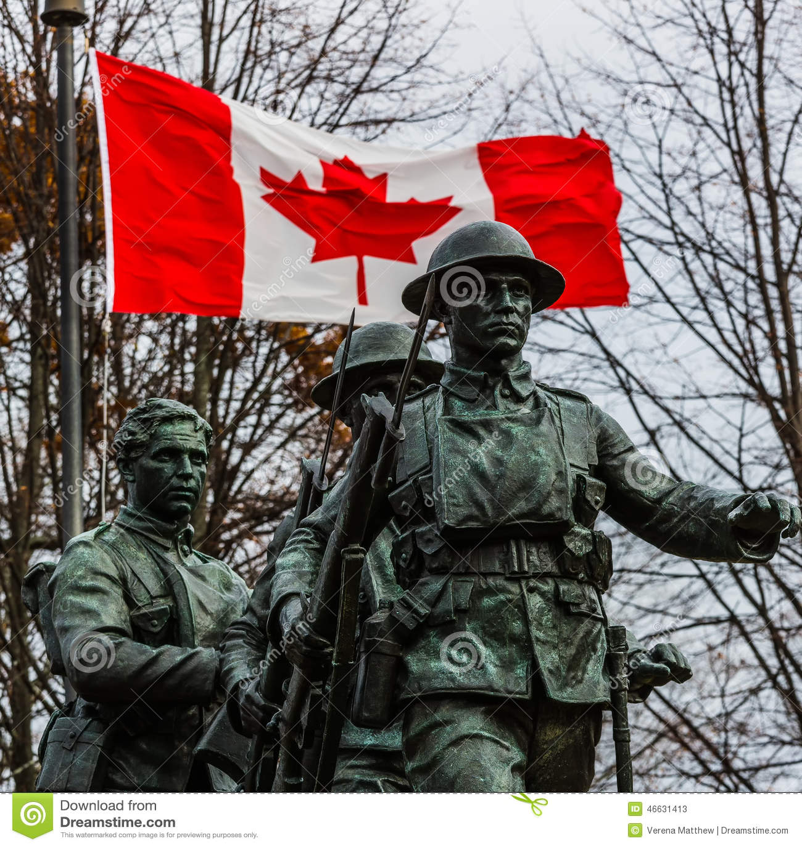 Canadian War Memorial Editorial Stock Photo Image Of