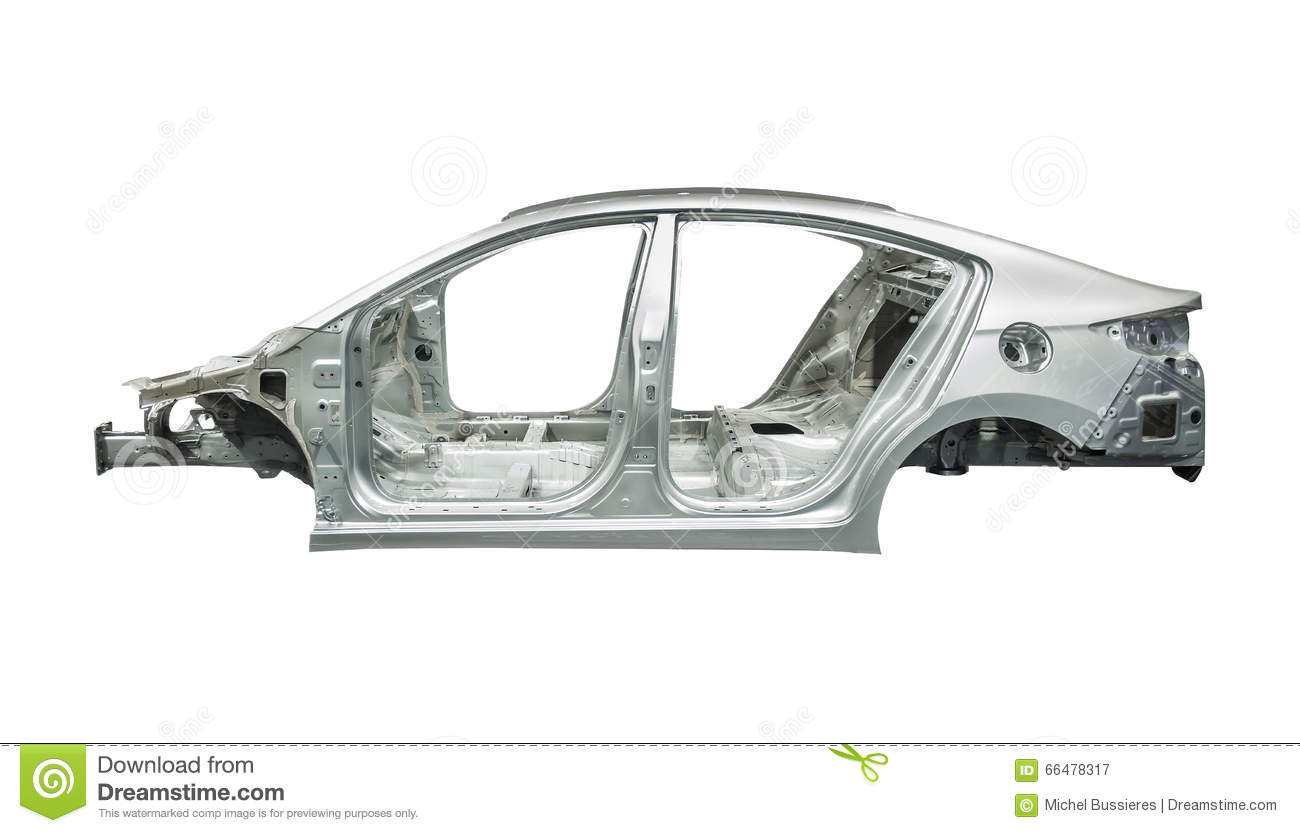 Car Body Frame Stock Images