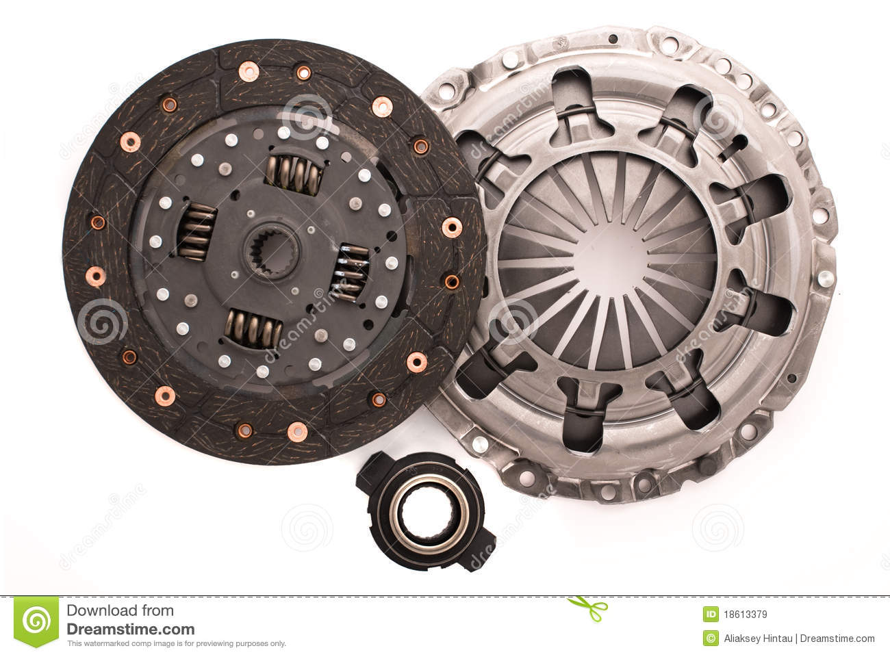 Car Engine Clutch Stock Image Image Of Part Automobile