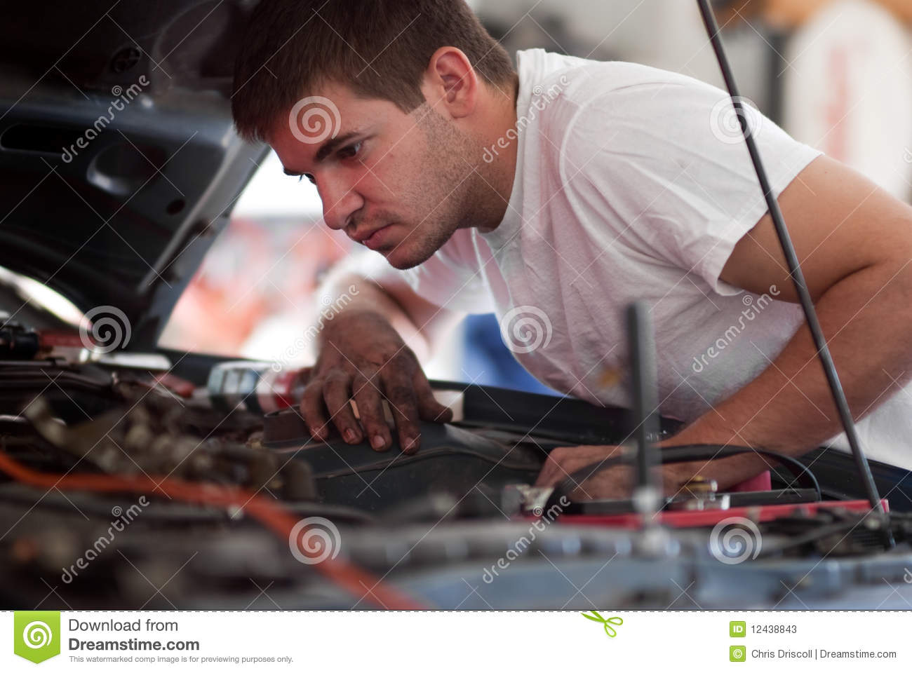 Car Repair Diagnose Troubleshoot And Fix Auto Stock