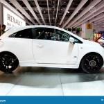 Carro Branco Opel Corsa Foto Editorial Imagem De Espelho 20189821