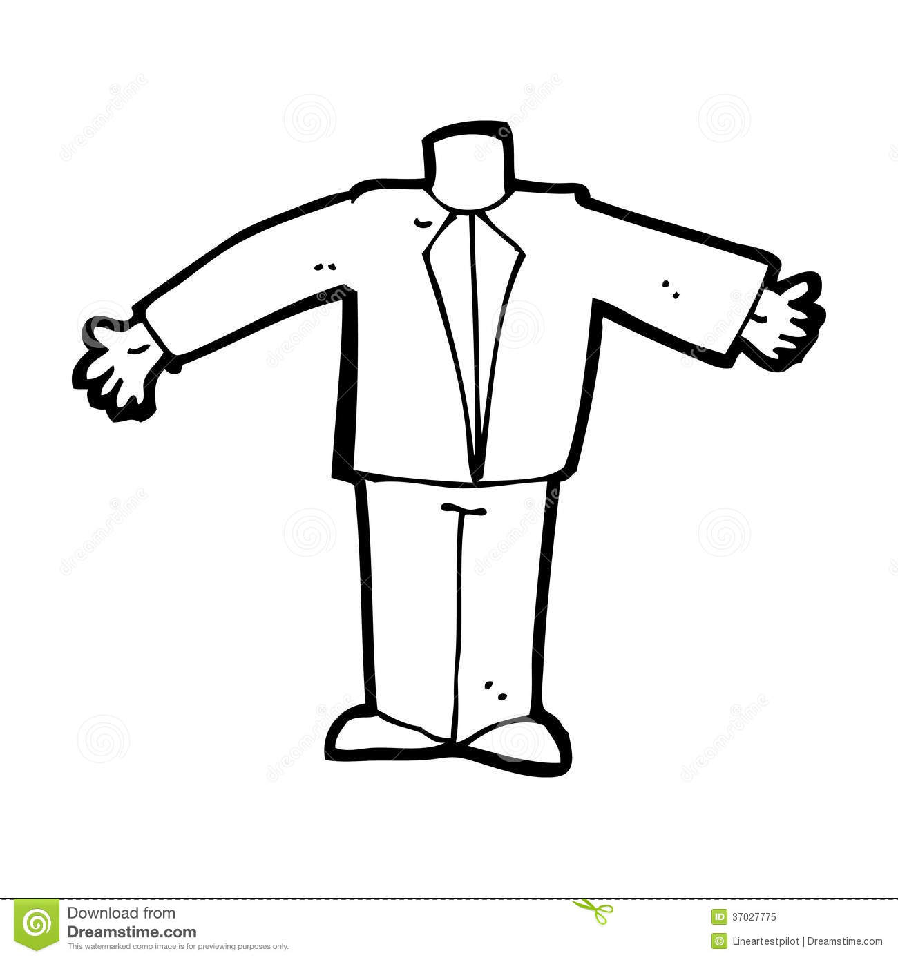 Cartoon Body In Suit Mix And Match Cartoons Or Add Own