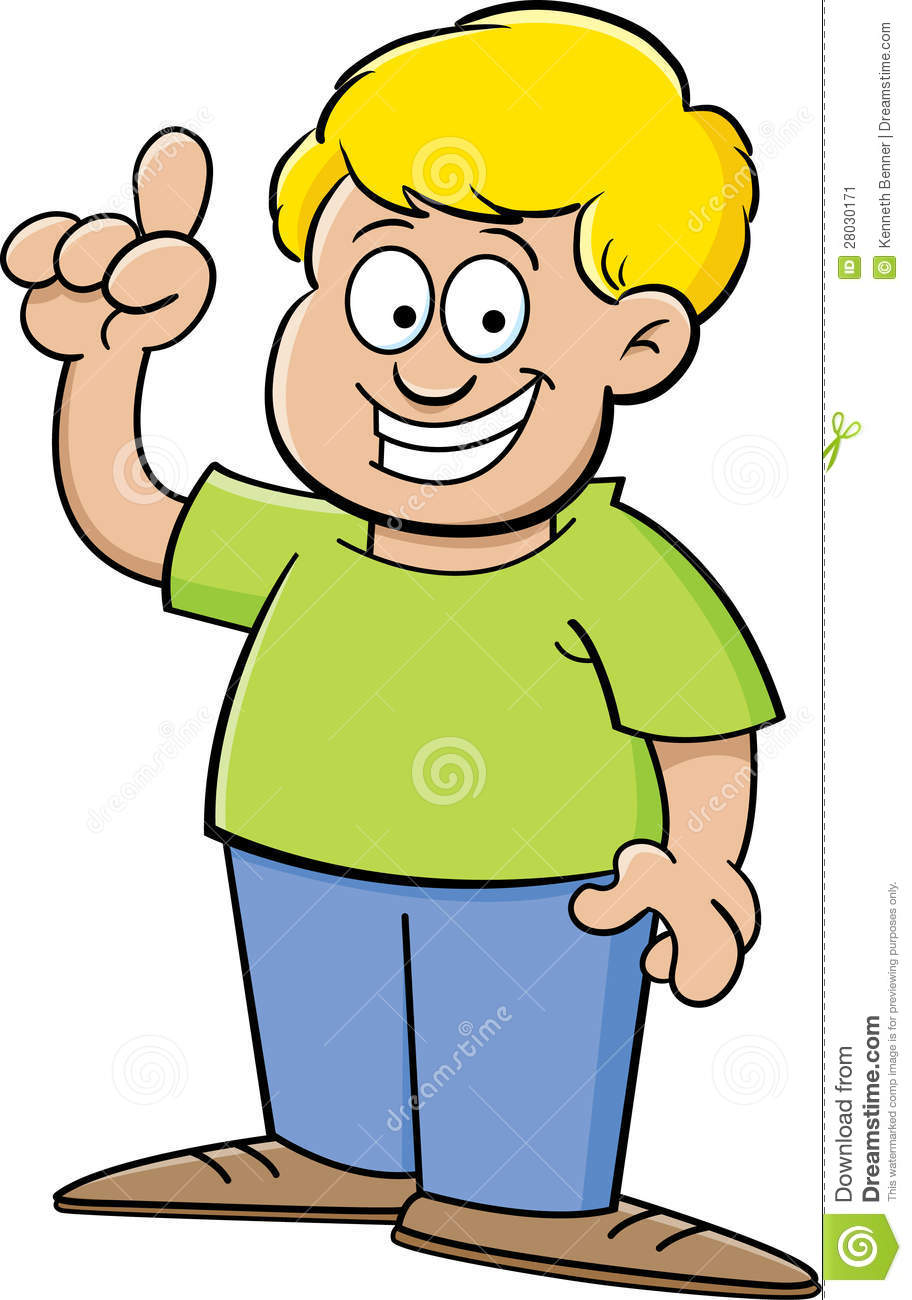 more similar stock images of cartoon boy with an idea