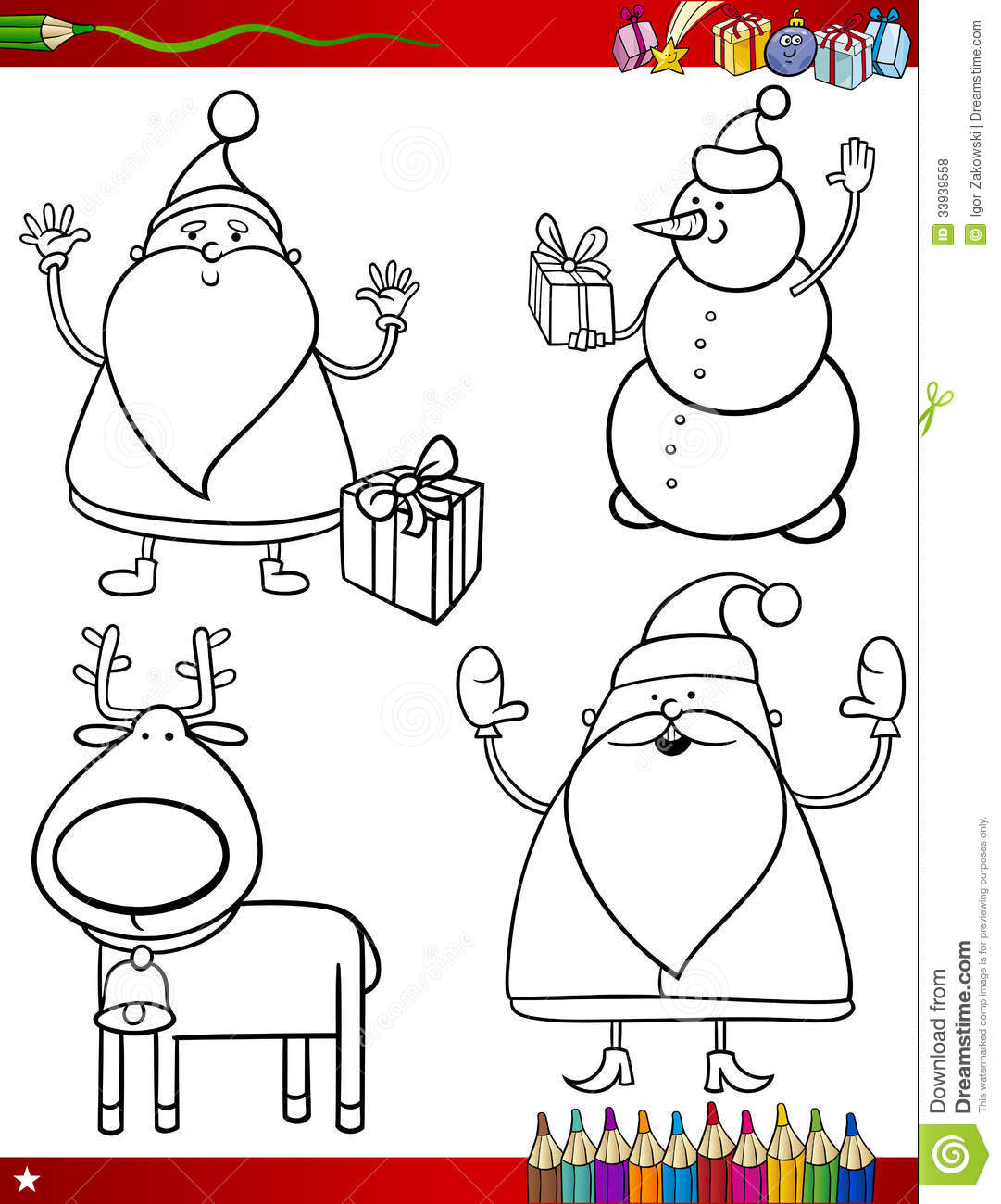 Search Results For Coloring Pages Of Papa Noel