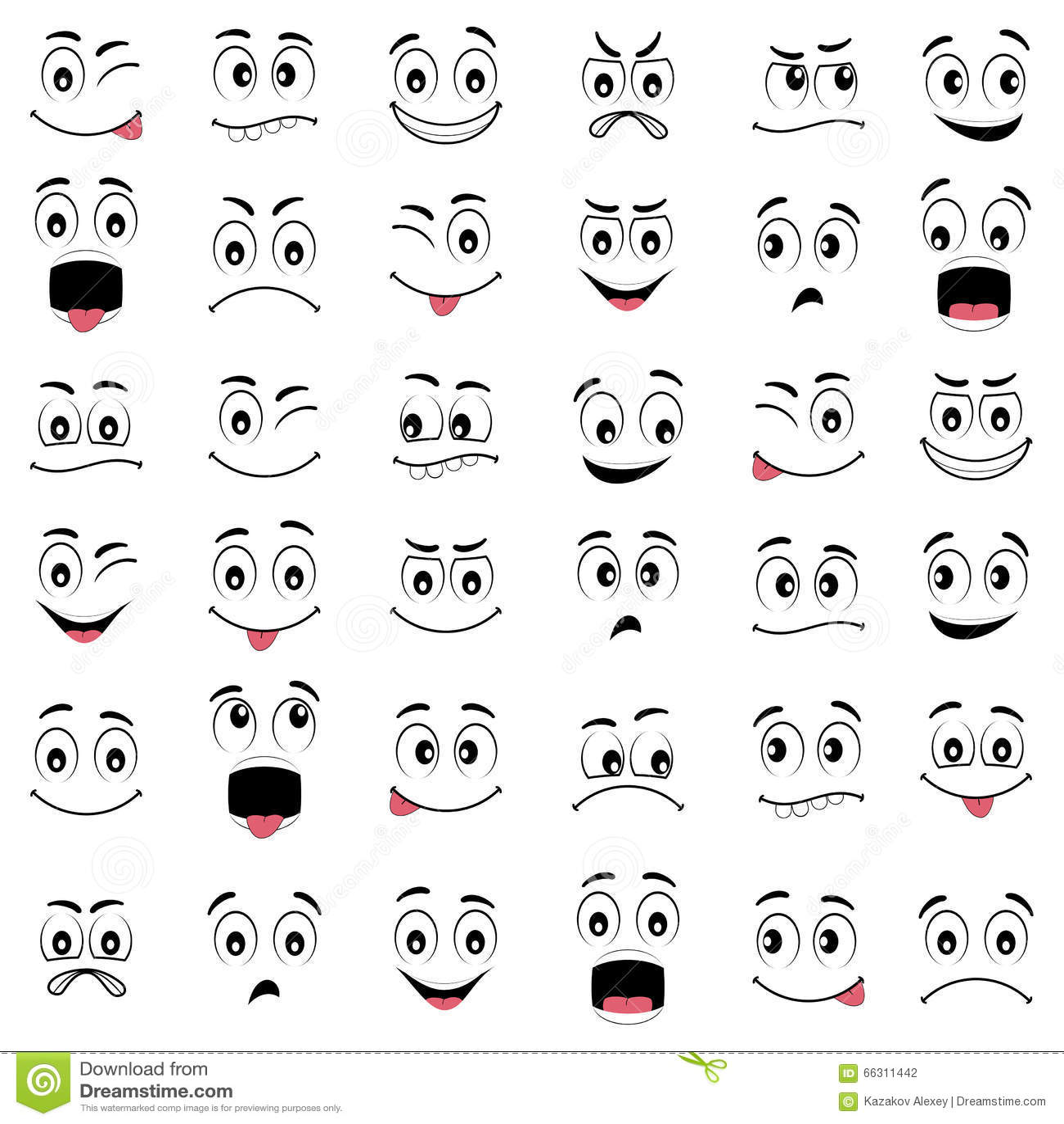 Evil Emoticon Cartoon Design Royalty Free Illustration