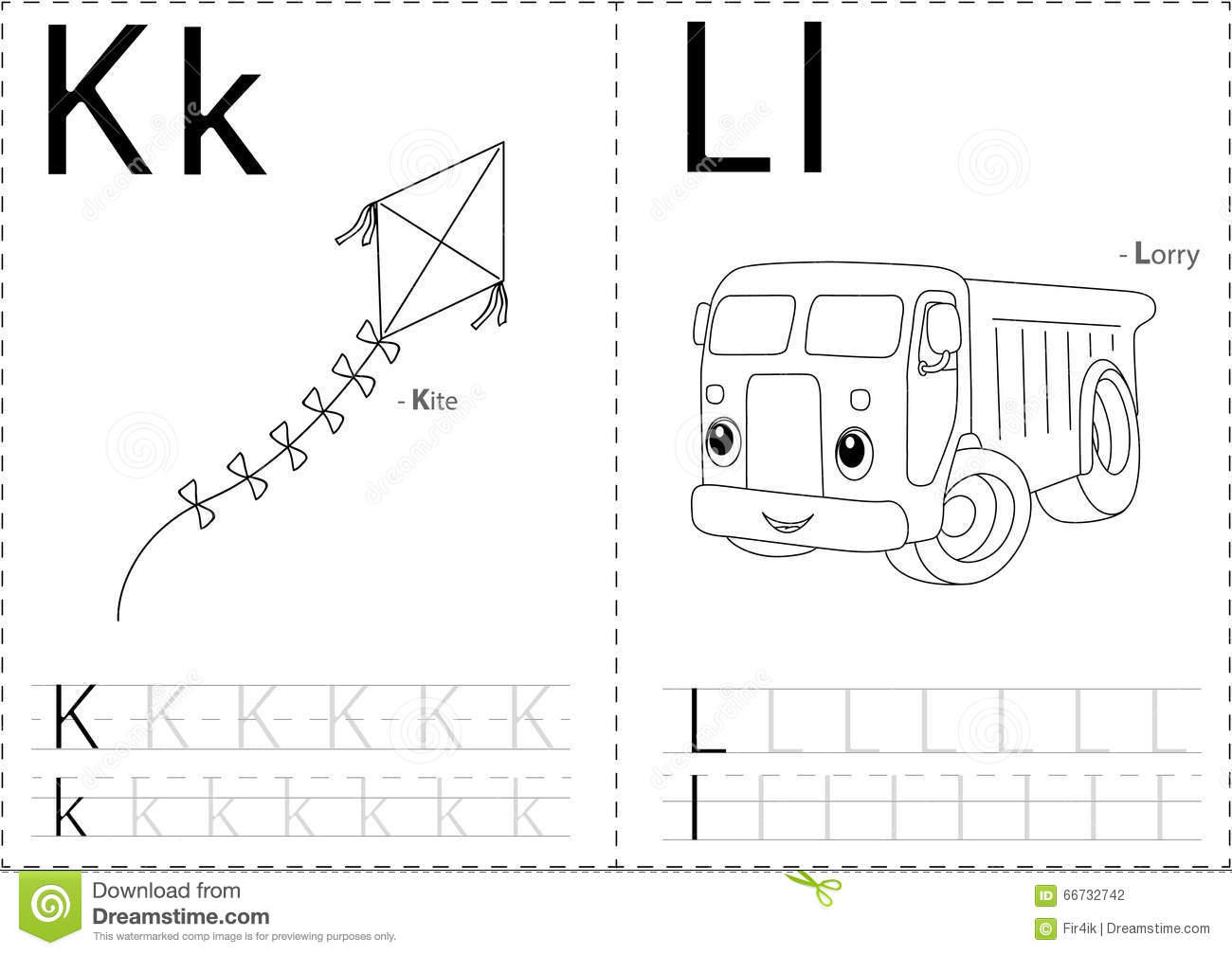 Kite Printable Worksheet
